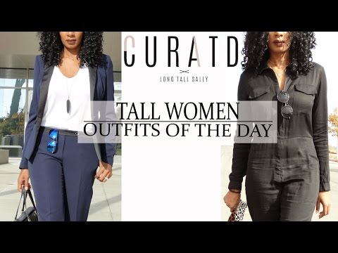 BUSINESS AND CASUAL OUTFITS OF THE DAY FOR TALL WOMEN | CURATD. X LONG TALL SALLY