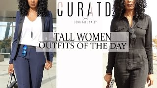 BUSINESS AND CASUAL OUTFITS OF THE DAY FOR TALL WOMEN   CURATD. X LONG TALL SALLY
