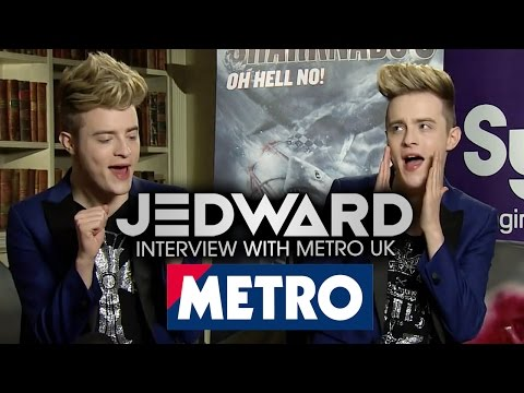 Jedward Shark Trivia Quiz  (METRO Entertainment)
