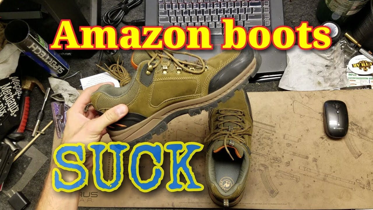 65caa904e8bb Camel Crown boots from Amazon FAIL review