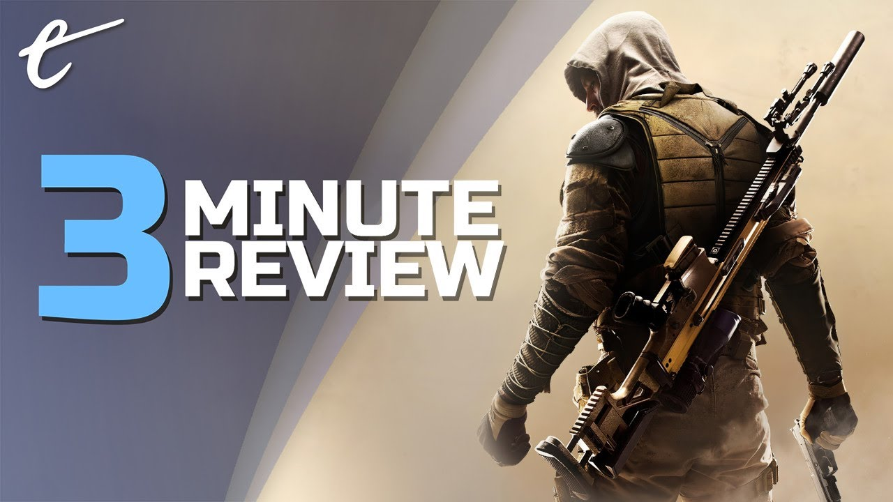 Sniper: Ghost Warrior Contracts 2 | Review in 3 Minutes (Video Game Video Review)