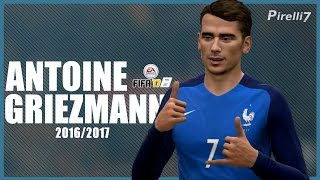 FIFA 17 Remake: Antoine Griezmann Goals & Skills 2017 |HOTLINE BLING| 60fps - by PIRELLI7