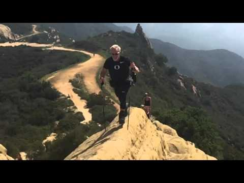 Jack Guy Running on Backbone trail Santa Monica Mountains
