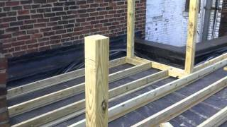 Blackwood St Rubber roof/Roof Deck Project