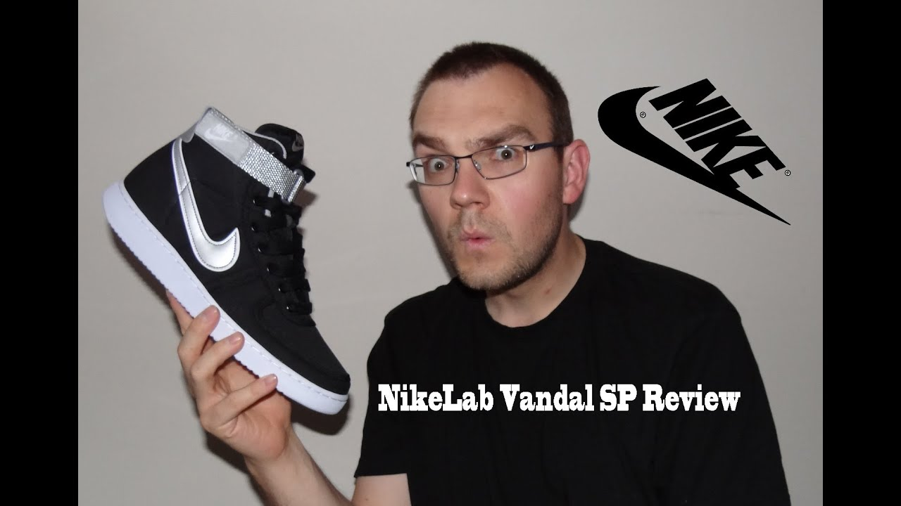 3bc079f60d3f73 NikeLab Vandal High SP Kyle Reese Terminator Review - YouTube