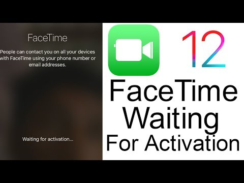 "Fix"" FaceTime Waiting For Activation On iPhone or iPad iOS 12, 11 or iOS 10"