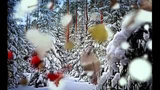 зимние пейзажи гуашью поэтапно