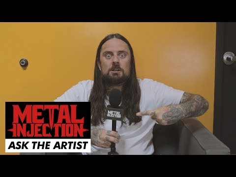"""CJ of THY ART IS MURDER On """"Human Target,"""" Becoming A Dad and more  