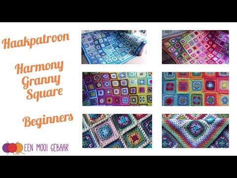Harmony Granny - Attic24 - Haakpatroon uitleg beginners