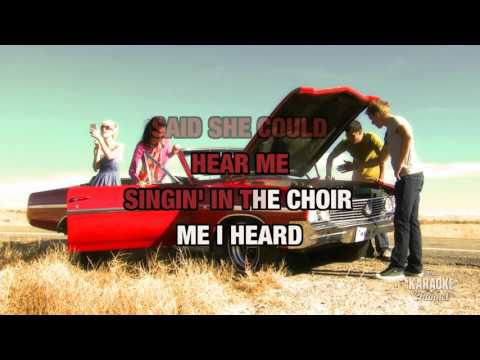 Long Time Gone in the style of Dixie Chicks | Karaoke with Lyrics