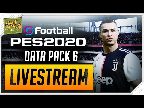 PES 2020: LIVE!  Data Pack 6 GAMEPLAY!