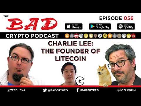 Charlie Lee of Litecoin Fame