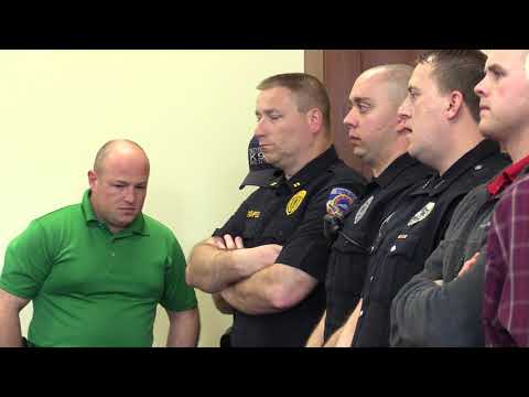 Accused cop-killer arraigned in Pikeville officer's death