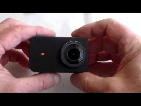 Best Budget 4K Touch Screen Camera Xiaomi Mijia Mini  + Test Clips