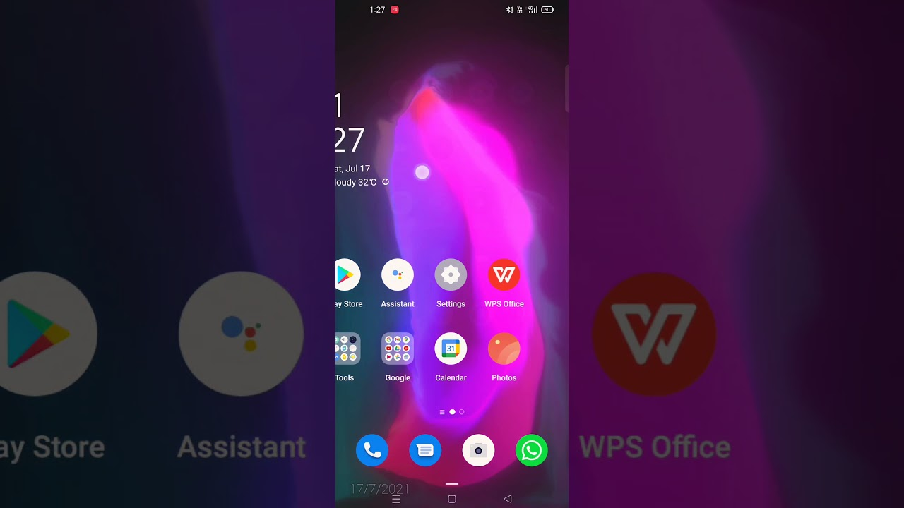 how to set live wallpaper - YouTube