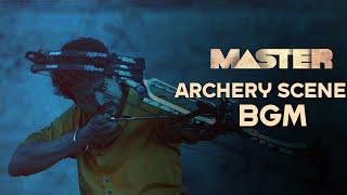 Master - Archery Scene background music   8D   Thalapathy Vijay   Anirudh   Master BGM