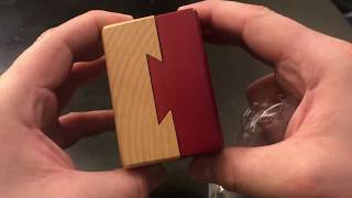 [ Impossible Dove Tail Box ] Puzzle - Unwrapping And Solving (Warning: Spoilers!) - MrMaD