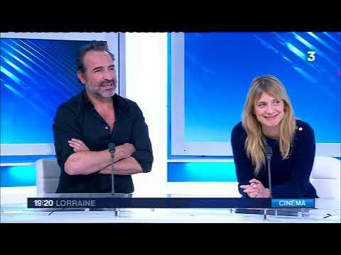 Mélanie Laurent et Jean Dujardin invités du 19/20 Lorraine
