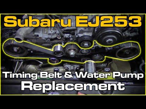 Subaru EJ253 SOHC Timing Belt & Water Pump Replacement