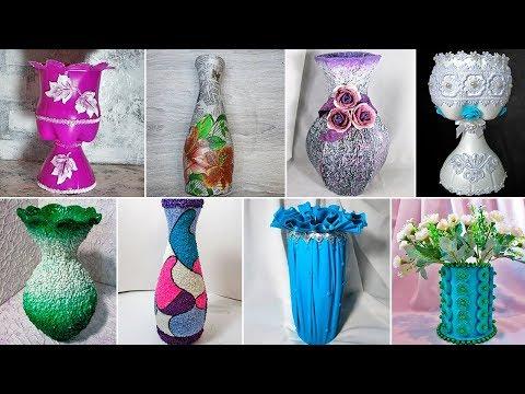 Как самому сделать вазу для цветов