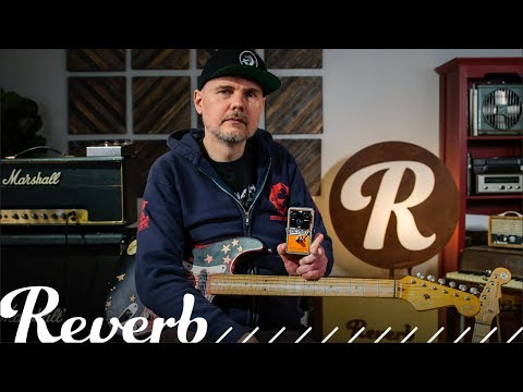 Billy Corgan's First Look At The Op Amp Big Muff From Electro-Harmonix | Reverb Interview