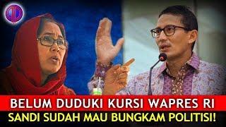 Ngeriii... Belum Duduki Kursi Wapres RI, Sandi Sudah Mau Bungk4m Politisi!