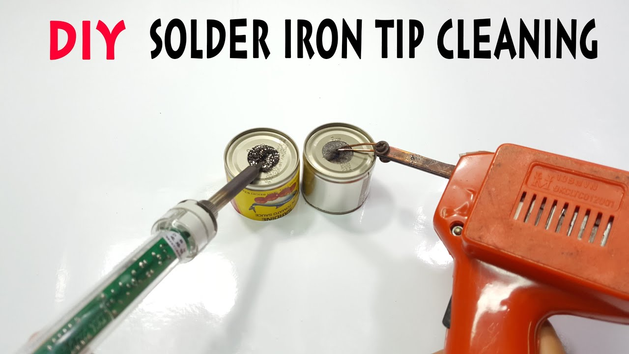 how to make solder iron tip cleaning tool in 1 minutes for 1 youtube. Black Bedroom Furniture Sets. Home Design Ideas