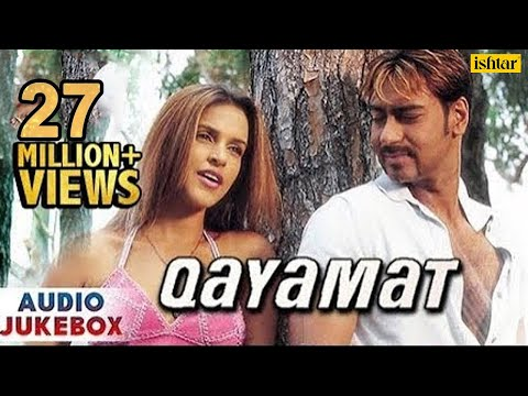 Qayamat  Bollywood Full Songs  Ajay Devgan, Suniel Shetty, Neha Dhupia  JUKEBOX  Romantic Hits