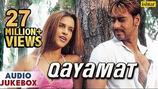 Qayamat - Bollywood Full Songs  Ajay Devgan Suniel Shetty Neha Dhupia  JUKEBOX  Romantic Hits