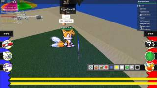 MORE ROBLOX WITH TAILS :DD and knuckles