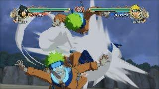 Naruto Ultimate Ninja Storm Legacy Trilogy PC All Interrupted Failed Ougi English Dub 60 FPS 1080p