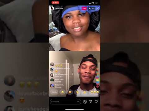 WELUVCHE trying to find himself a man on Instagram Live