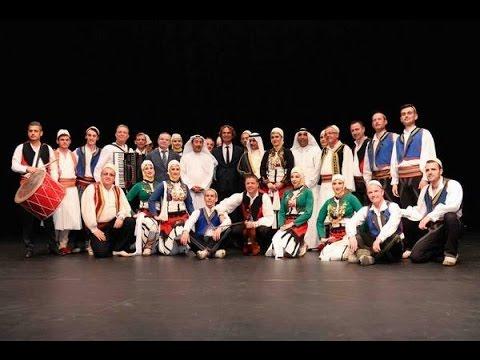 Festë të madhe ka sot Shqipëria (Ansambli Kombëtar i Këngëve dhe Valleve në Kuvajt - 2016)