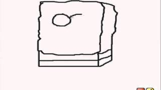 ExpertDrawings - How To Draw Sponge Bob on Ms Paint