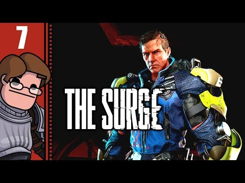 Let's Play The Surge Part 7 - Lost in Central Production
