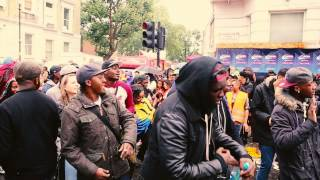 Cameo - Candy @ Notting Hill Carnival 2014 ..spontaneous crowd dance
