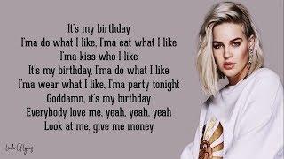 Anne-Marie - Birthday (Lyrics) 🎂