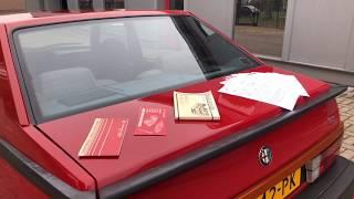 1988 - Alfa Romeo 75 3.3 V6 Savali Tuned