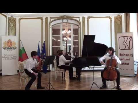 "Clavier trio ""Puldin"" - Concert in the  Bulgarian embassy in Prague"