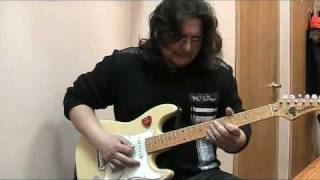 "Внуков Александр - ""Black magi Woman"" solo by Santana"