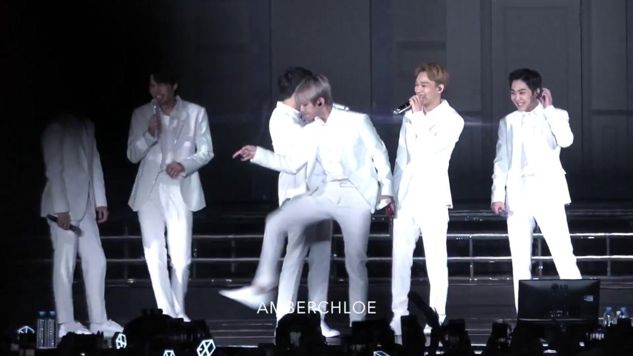 Download EXO Funny Dance in HK