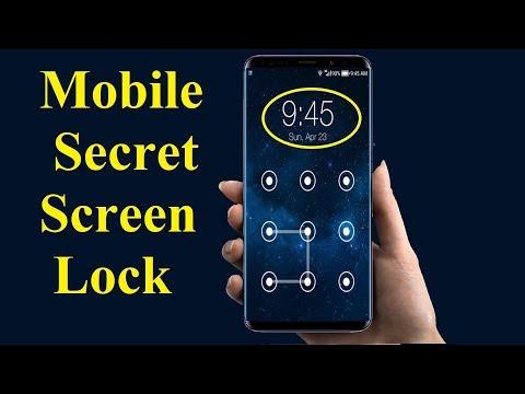 Mobile Secret Screen Lock
