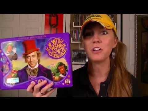 Unboxing Willy Wonka & the Chocolate Factory 40th Anniversary Box Set!