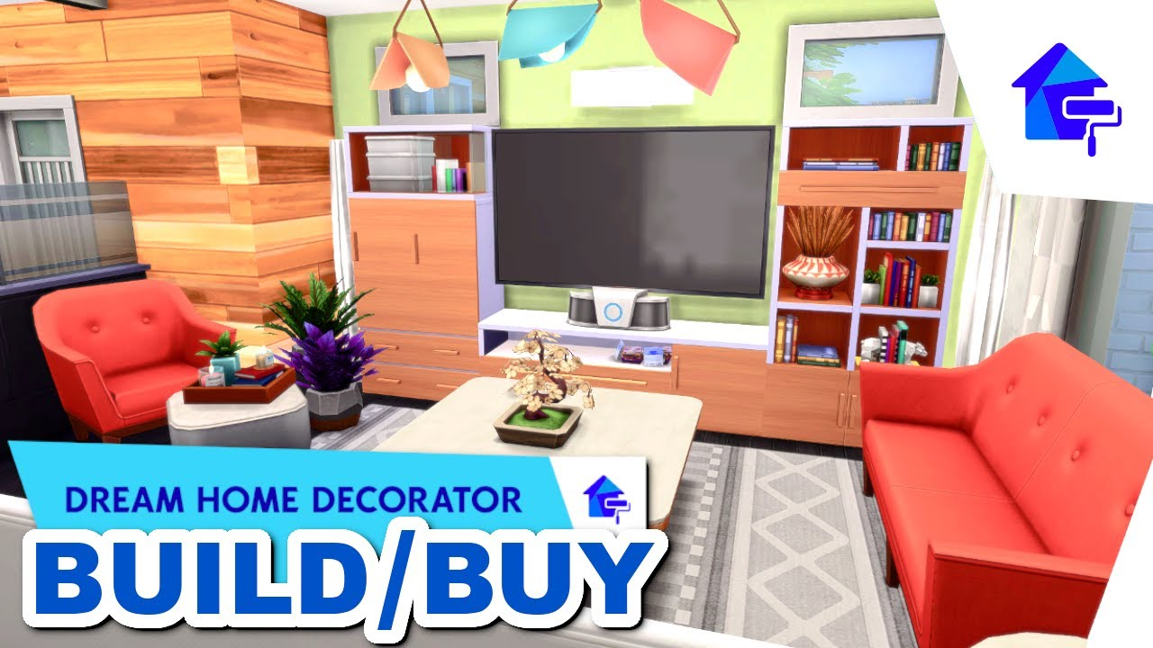 My New FAVORITE Pack    The Sims 20 Dream Home Decorator    Complete  Build/Buy Overview