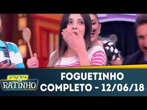 Foguetinho - Completo | Programa Do Ratinho (12/06/2018)