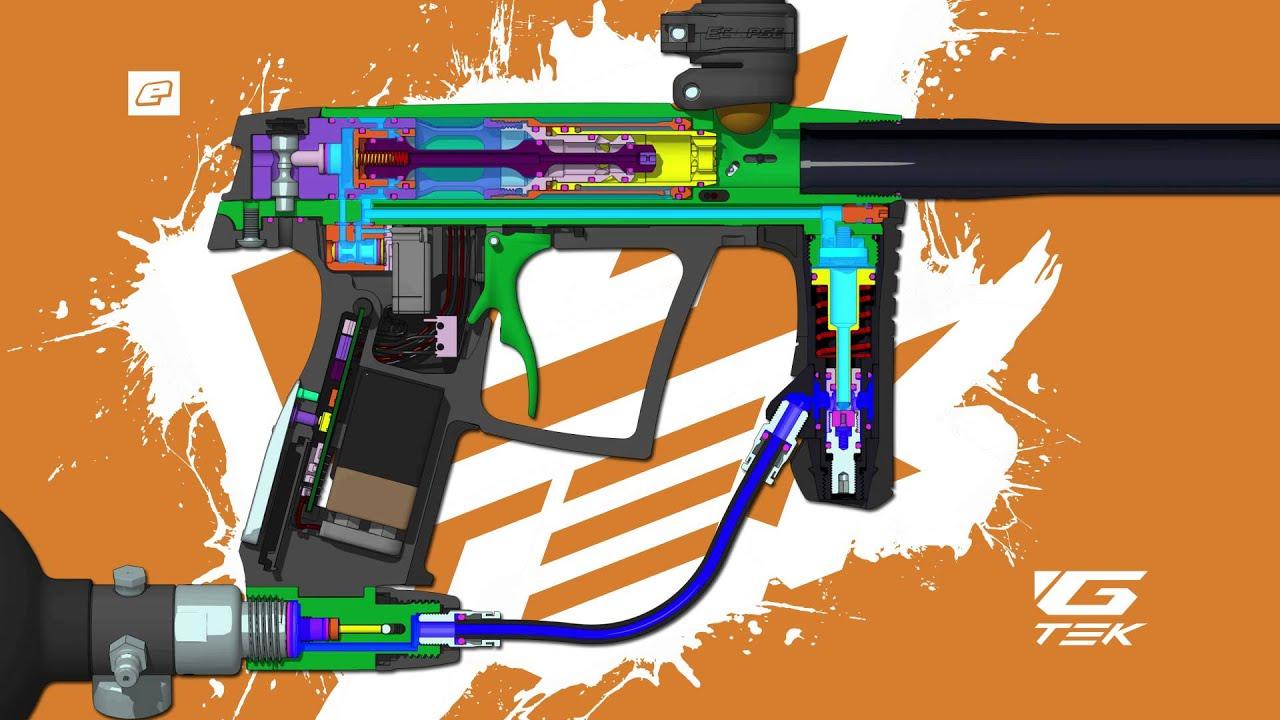 G tech paintball gun