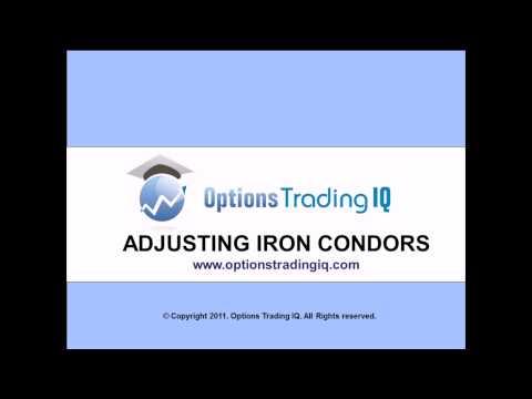 Adjusting Iron Condors