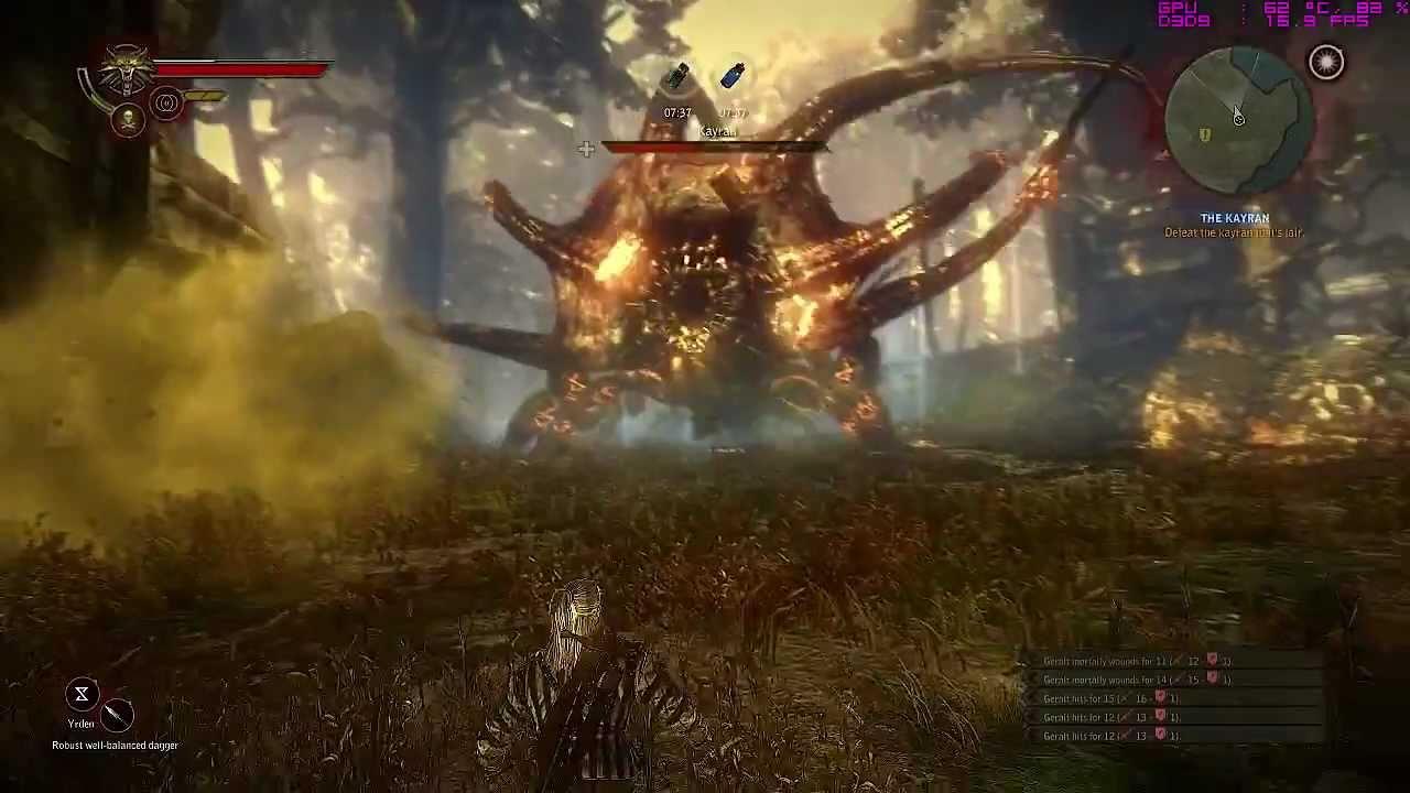Witcher 2 Kayran Töten