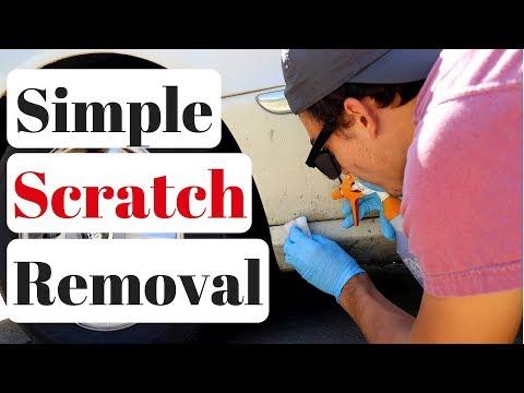 magic eraser on car scratches youtube. Black Bedroom Furniture Sets. Home Design Ideas