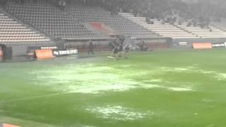 OGC nice - Nantes L'Allianz sous le déluge